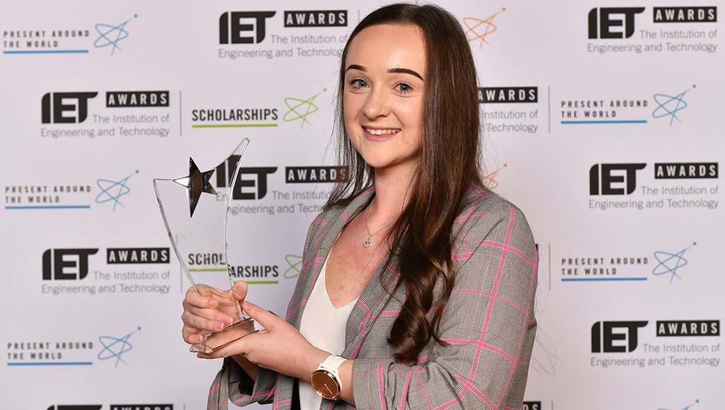 The IET is to present an apprentice award