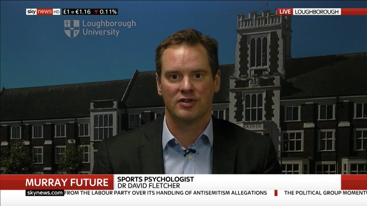 Dr David Fletcher, of @LboroSSEHS, discusses #AndyMurray's future on @SkyNews. To set-up an interview email publicrelations@lboro.ac.uk   @Globelynx #journorequest<br>http://pic.twitter.com/UkdNoVDupL