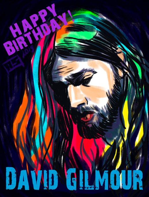 Happy Birthday to David Gilmour!!