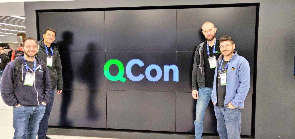 Team @AppsFlyer on the ground at #QConLondon ! Make sure to say hi. Cc: @qconlondon