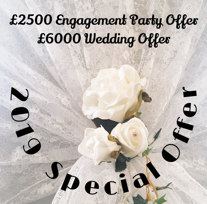 One not to miss for bargain hunters. Check out this FAB offer we have for weddings here. Call 01622 870801 to check date availability https://t.co/AmpN4aEONy #weddings #weddingoffers #WeddingWednesday https://t.co/KoBrIi4O2k