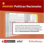Image for the Tweet beginning: #DatoPlanificador 😃 Conoce las políticas