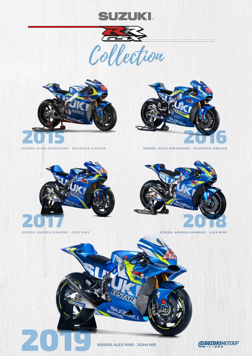 Team Suzuki Ecstar On Twitter The Comeback Collection Suzuki Soul And Gsx Rr Heart 2019 Model About To Make Its Racing Debut Motogp Suzuking Https T Co Yhhahrvlag