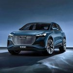 Image for the Tweet beginning: The all-new Audi Q4 e-tron