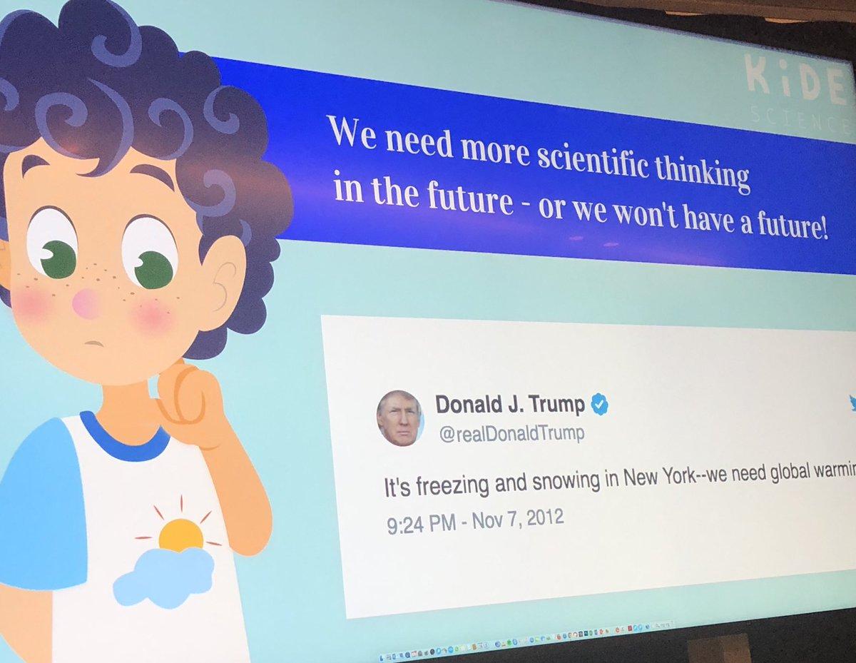 Sparking interest for high quality science adventures for kids - @KideScience on a mission @sariirene  #futurefemalefi #FutureOfEdTech @FutureFemale @ReaktorNow