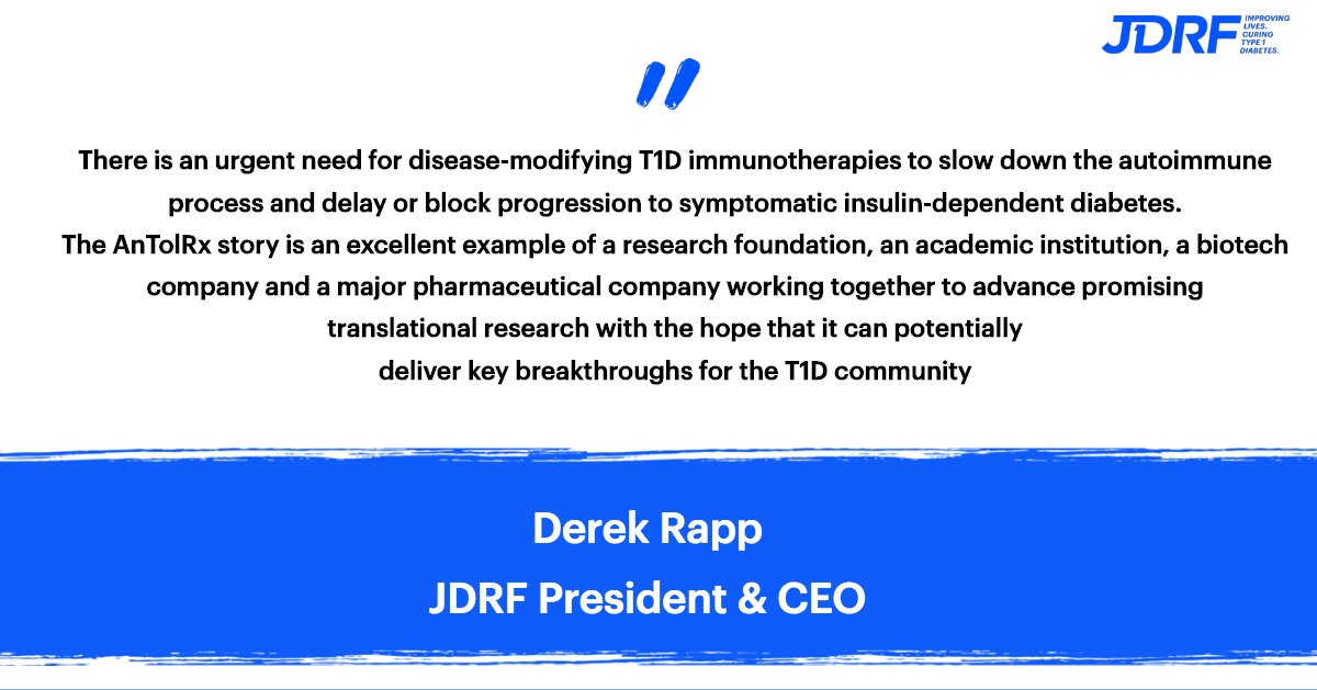 JDRF Research on Twitter:
