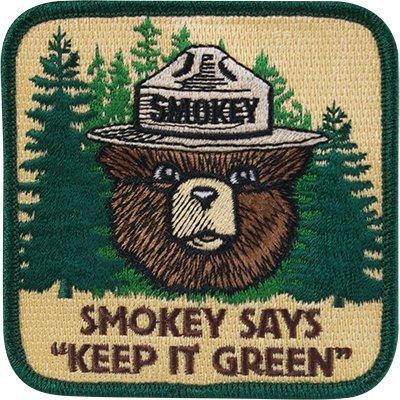Smokey Bear's photo on #green