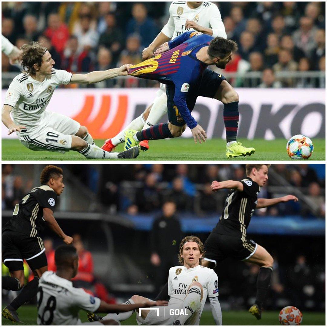 Luka Modric, 2018 Ballon d'Or winner 🙃