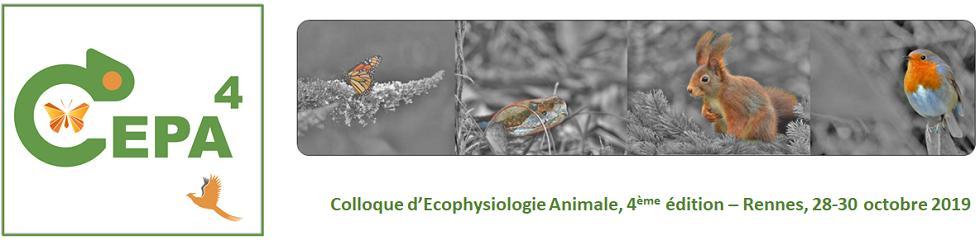 Bonjour à toutes et tous, La 4eme édition du Colloque d'Ecophysiologie Animale est lancée! Venez nous rejoindre à Rennes les 28-30 octobre 2019! #CEPA4 https://cepa4.sciencesconf.org/