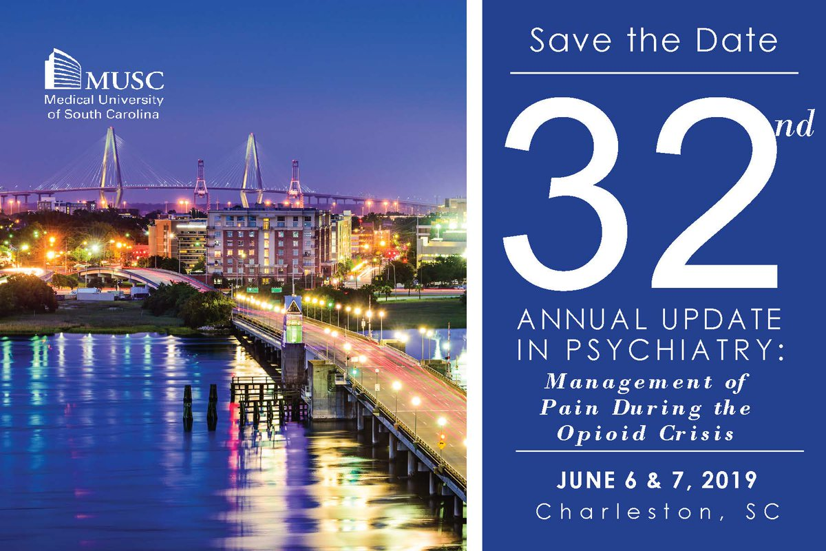 MUSC Psych CE Office - @MUSCpsychevents Twitter Profile and