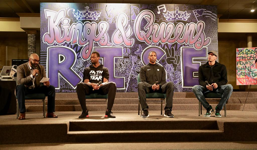 Kings joined @BuildBlack10 last night to talk justice and healing within the community 💜  📝 » http://spr.ly/6010EnXOI