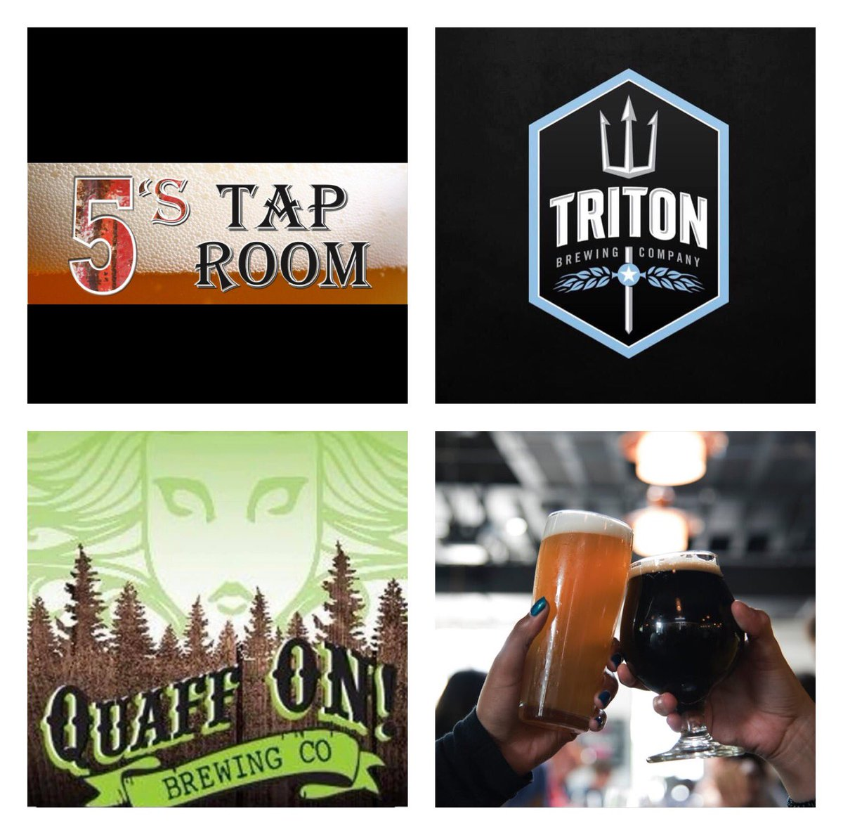Awesome Taproom @5Taproom Great Staff - Huge Support for Indiana Beers 🍻 Mark your calendars 🗓 6 Line Tap Takeovers. Two takeovers by 2 companies we support 🙏 Saturday March 9th Quaff On Brewing Saturday March 23rd Triton Brewing Company facebook.com/fivesTapRoom/