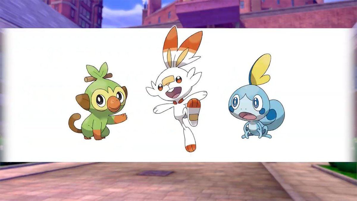 Ign On Twitter Gamefreak Announced The Three Starters Coming To