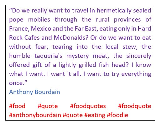 Foodquotes Hashtag On Twitter