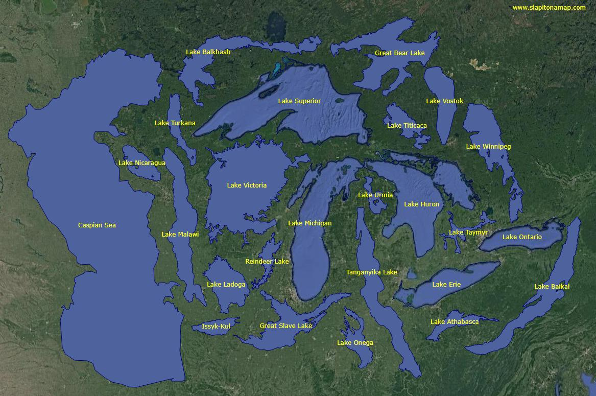 Lake Baikal World Map.Center For Limnology On Twitter The World S 25 Largest Lakes All