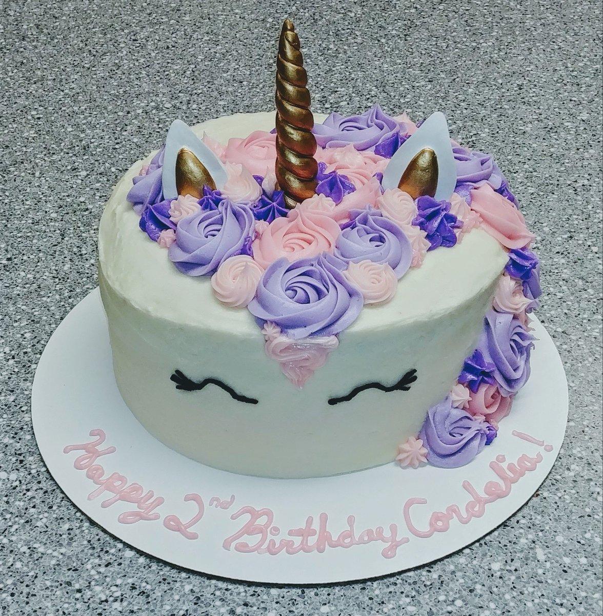 Unicorn Cake Cupcakesbyflea Birthdaycake Baker Baking Food