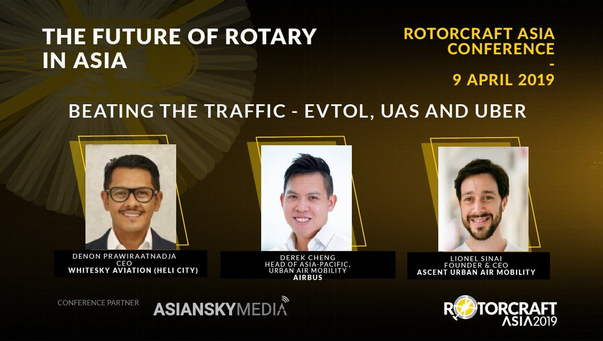 How can Asia prepare for new technologies in the #rotary industry amidst a heavily-regulated environment? Don't miss the Early Bird Rates for #RotorcraftAsia2019 Conference, ending 28 February! Full program and speakers line-up: https://t.co/pzwOLa9blU   #GearUpForLiftOff https://t.co/ilegRRmaHP