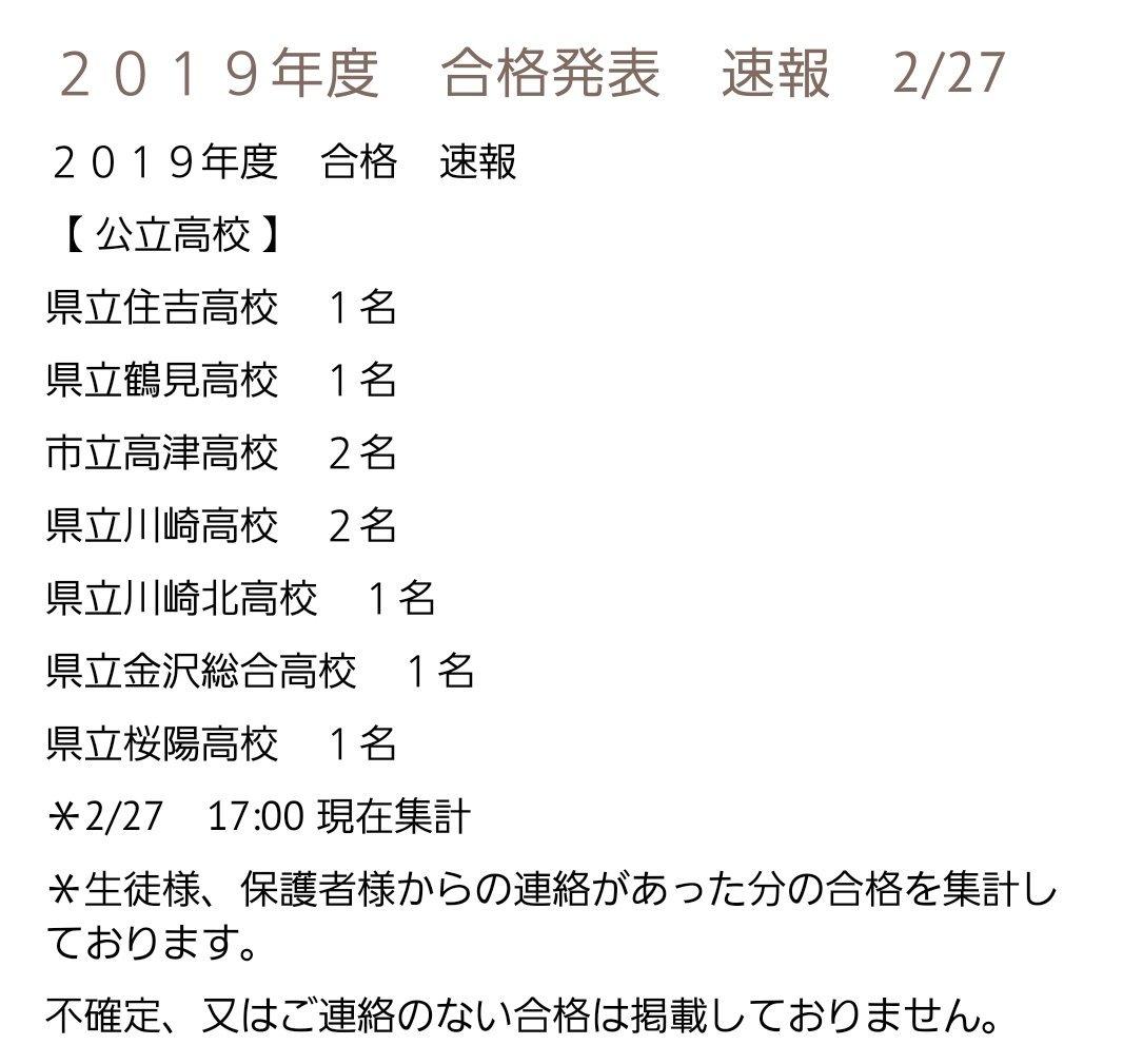 発表 高校 合格 神奈川 県立
