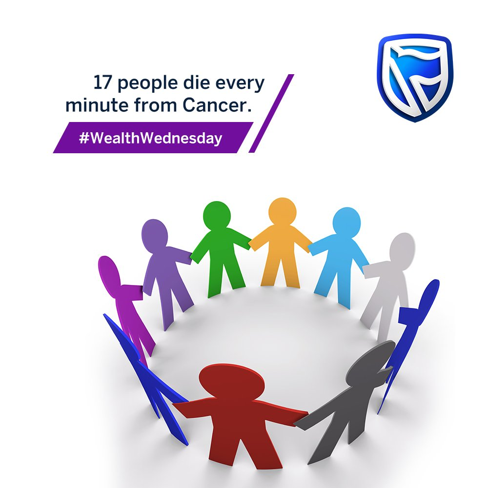 According to the World Health Organization, 17 people die every minute from Cancer. Please don't be a statistic . #WealthWednesday #IamAndIWill  <br>http://pic.twitter.com/WRo5sbG21u