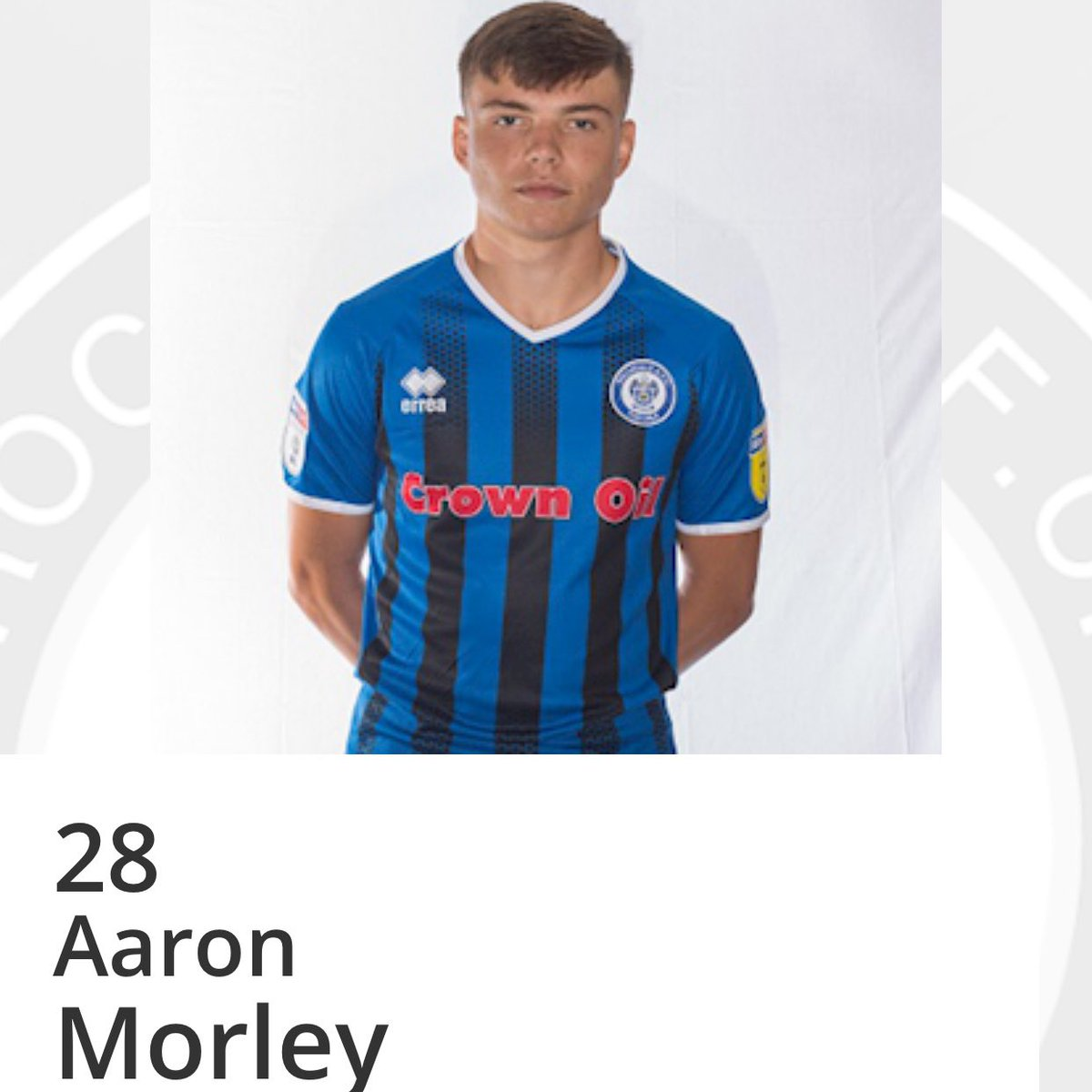 🥳| Wishing our man @Aaronmorley7 a very Happy 19th Birthday. Have a great day 🎉 #FullNinetyFamily 💙 #28