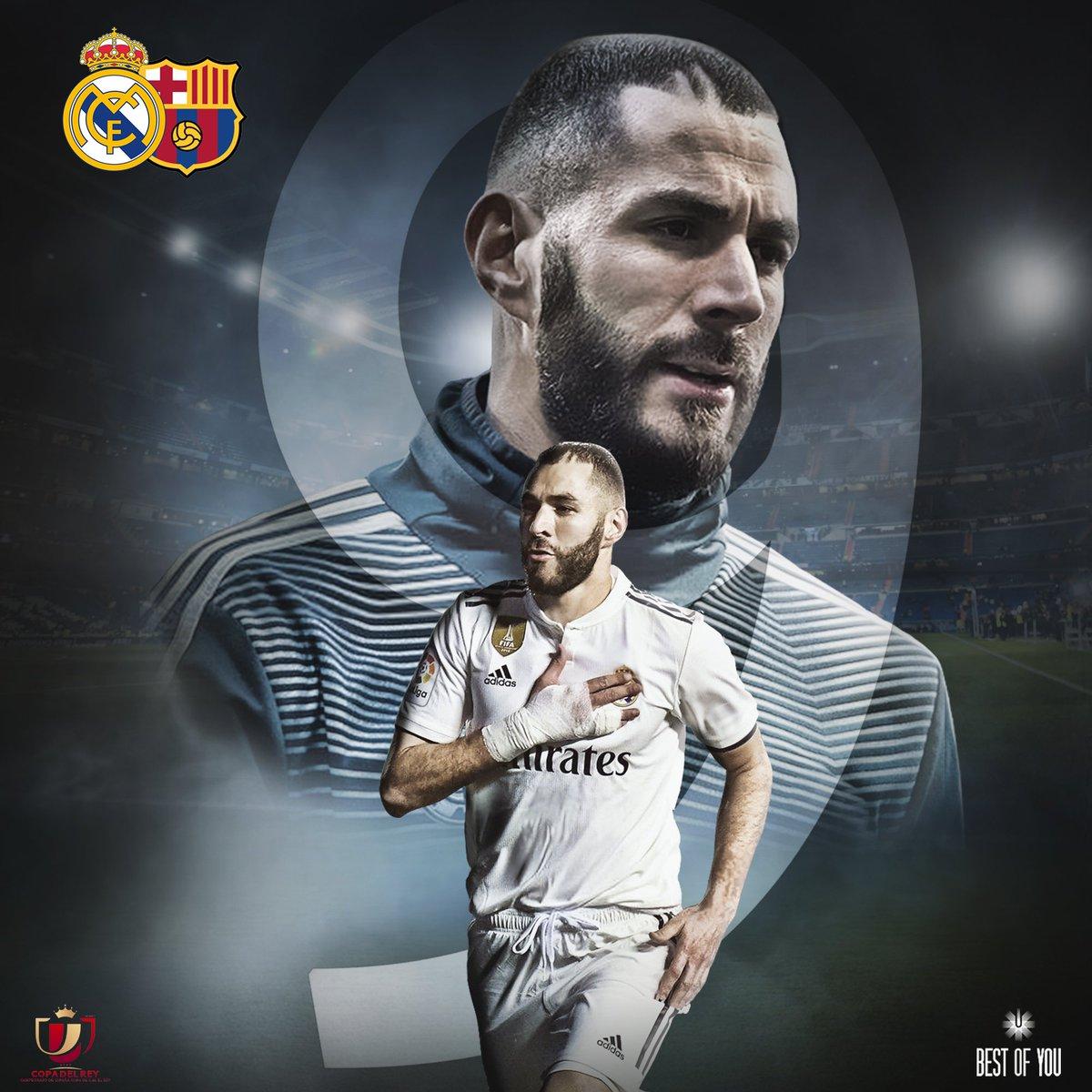 No soy de pedir, pero hoy queremos un Bernabéu que apriete. A por la final!! #HalaMadrid 🔥 💯 ⚽