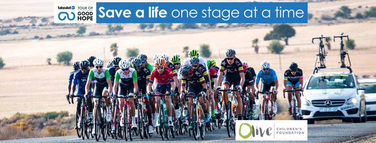 RT  tourofgoodhope The  TAKEALOT  TOGH will throw its weight behind the   OliveChildrens deef2f398