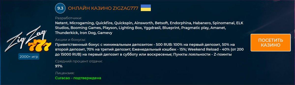 казино онлайн zigzag777 доступ к сайту