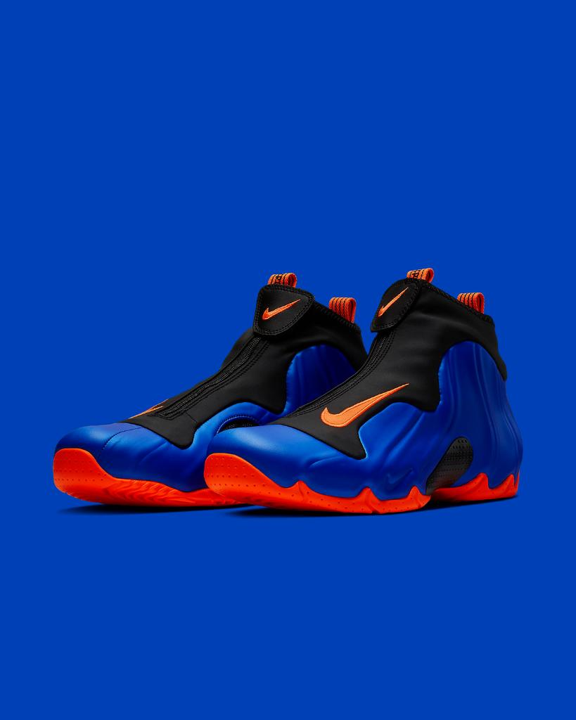 brand new abe0f 1e476 knickstape nike air flightposite racer blue launching 3 1 in store and  online