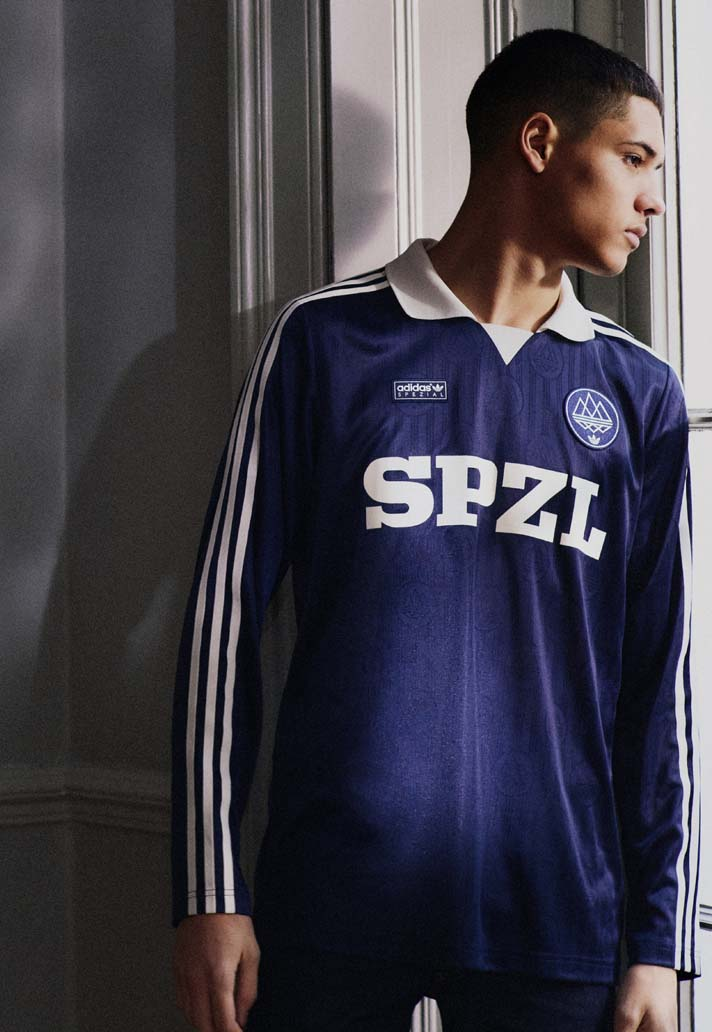 774a0c229 adidas Originals unveil the latest SPEZIAL SS19 collection headlined by the  standout football-inspired Lynwood jersey  ...