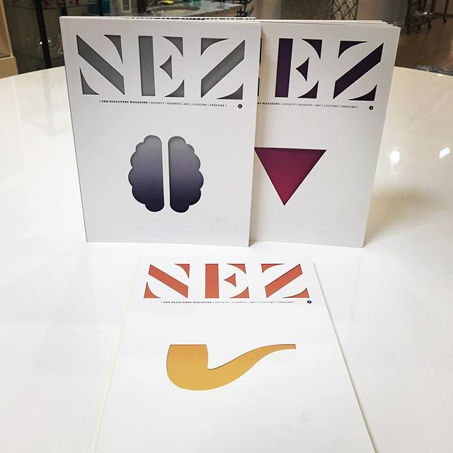 provperfumeco Geeking out over these NEZ Olfactory magazines