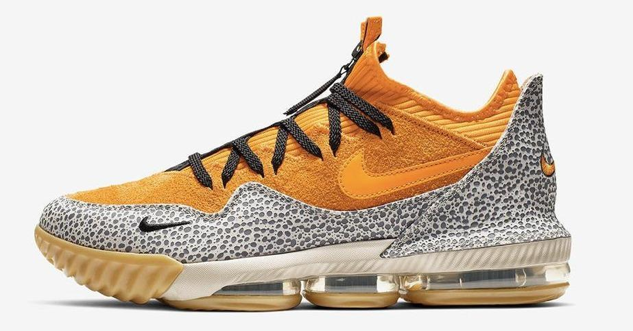 e914f8b3d25b3f the atmos x nike lebron 16 brings 2003s safari air max 1 back to life