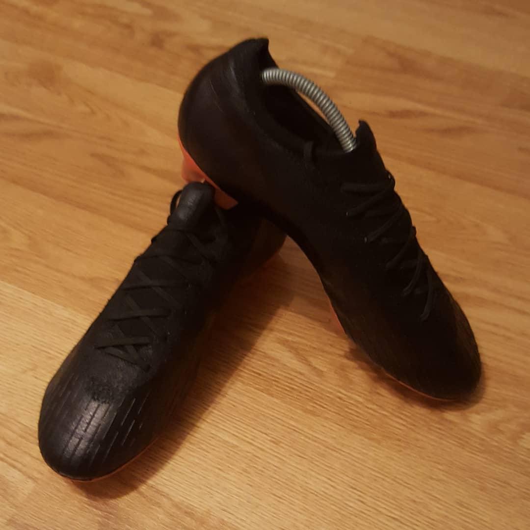 4f97fd800ce Nike Mercurial Vapor XII Elite FG Custom Blackout (UK 8.5) - Ebay Link In  Bio -  nike  mercurial  vapor  elite  ronaldo  football  soccer   footballboots ...