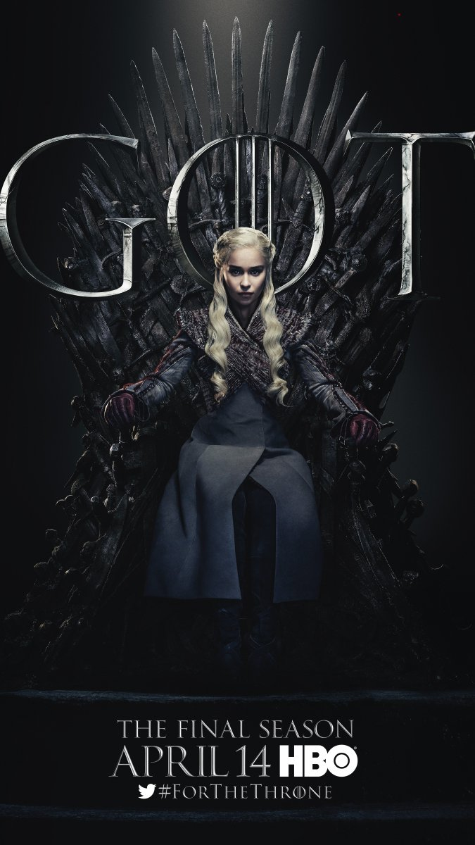 @ItsLina2, who will sit on the Iron Throne? Pledge your allegiance #ForTheThrone.