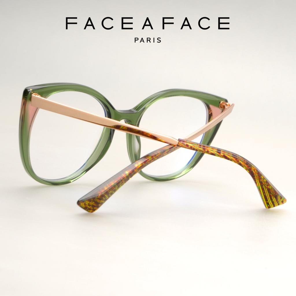 9d3a7d72f43 A sculpted end-tip with strong facets turns the design into a pure createur  concept.         FACEAFACE paris         ANOUK  faceaface  frames  designer  ...
