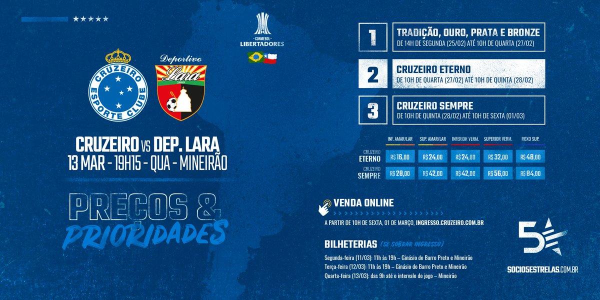 d88b127273a0e A venda de ingressos do CRUZEIRO ETERNO começa HOJE!!! Aproveite para  garantir o