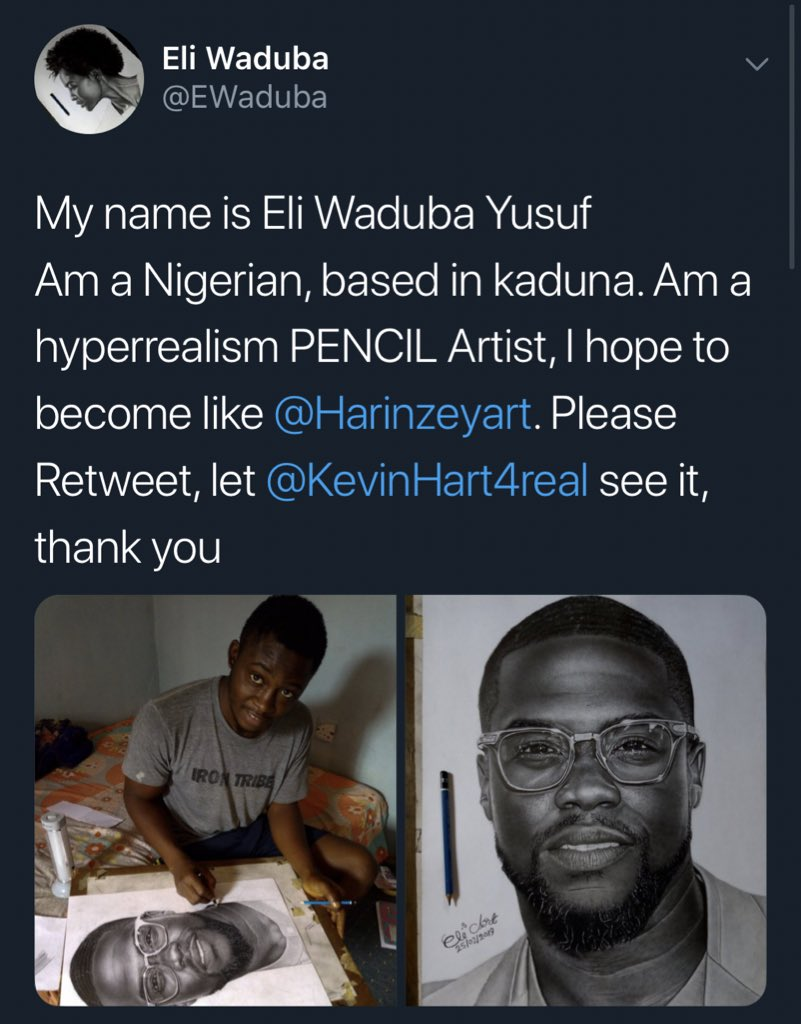 When God says it's your time, it's your time. Thank you @KevinHart4real. Congratulations @EWaduba