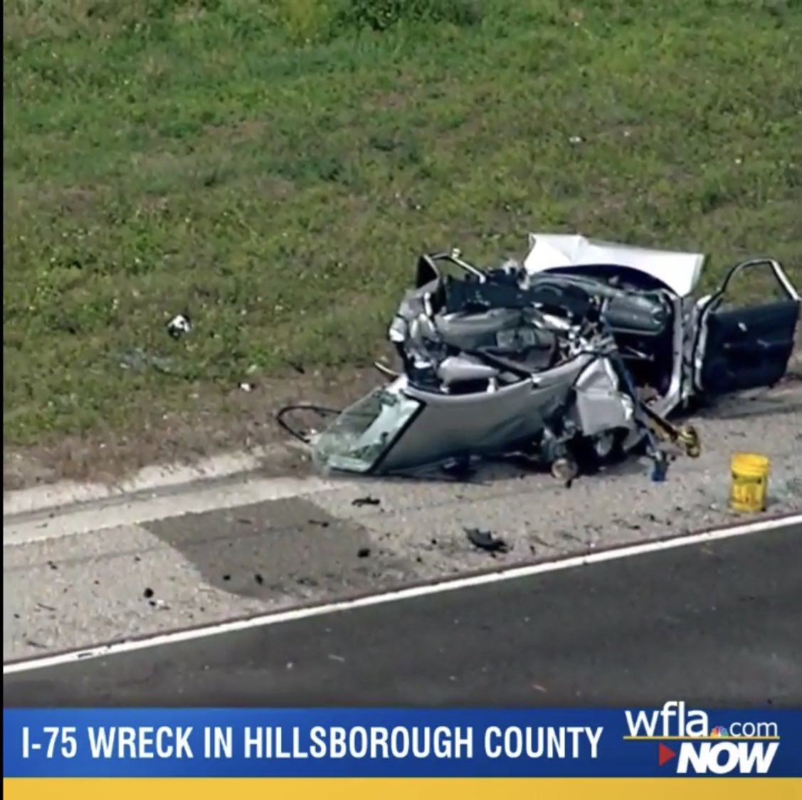 A multi-vehicle crash with injuries snarled traffic for hours