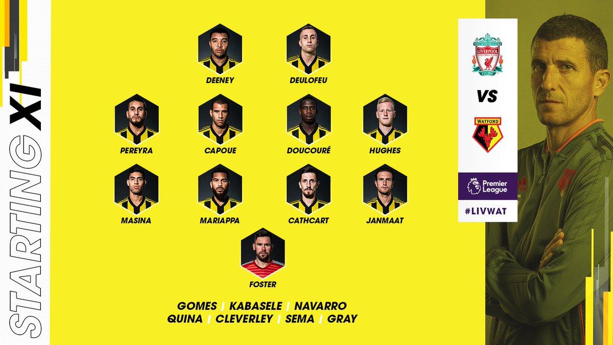 Divock Origi Starts - Liverpool Team vs Watford Confirmed