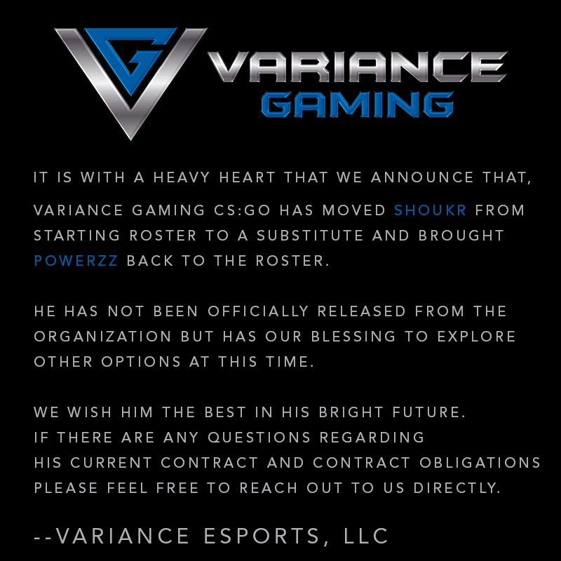 Variance Gaming™ on Twitter:
