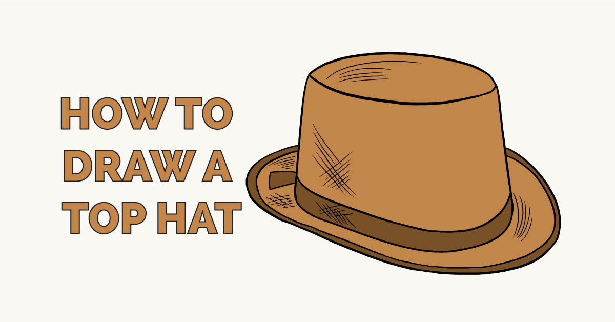 Easy Drawing Guides On Twitter Learn How To Draw A Top Hat Easy
