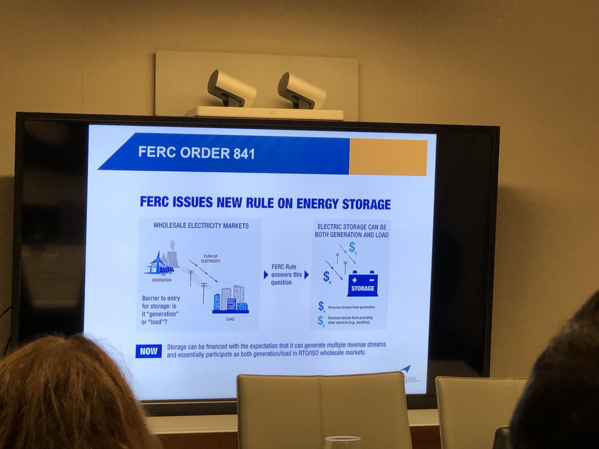 test Twitter Media - At tonight's meetup: Explanation of FERC order 841 for #energystorage is both genetaration and load @HodgsonRuss #NYEW2019 https://t.co/9nr0707Hyr
