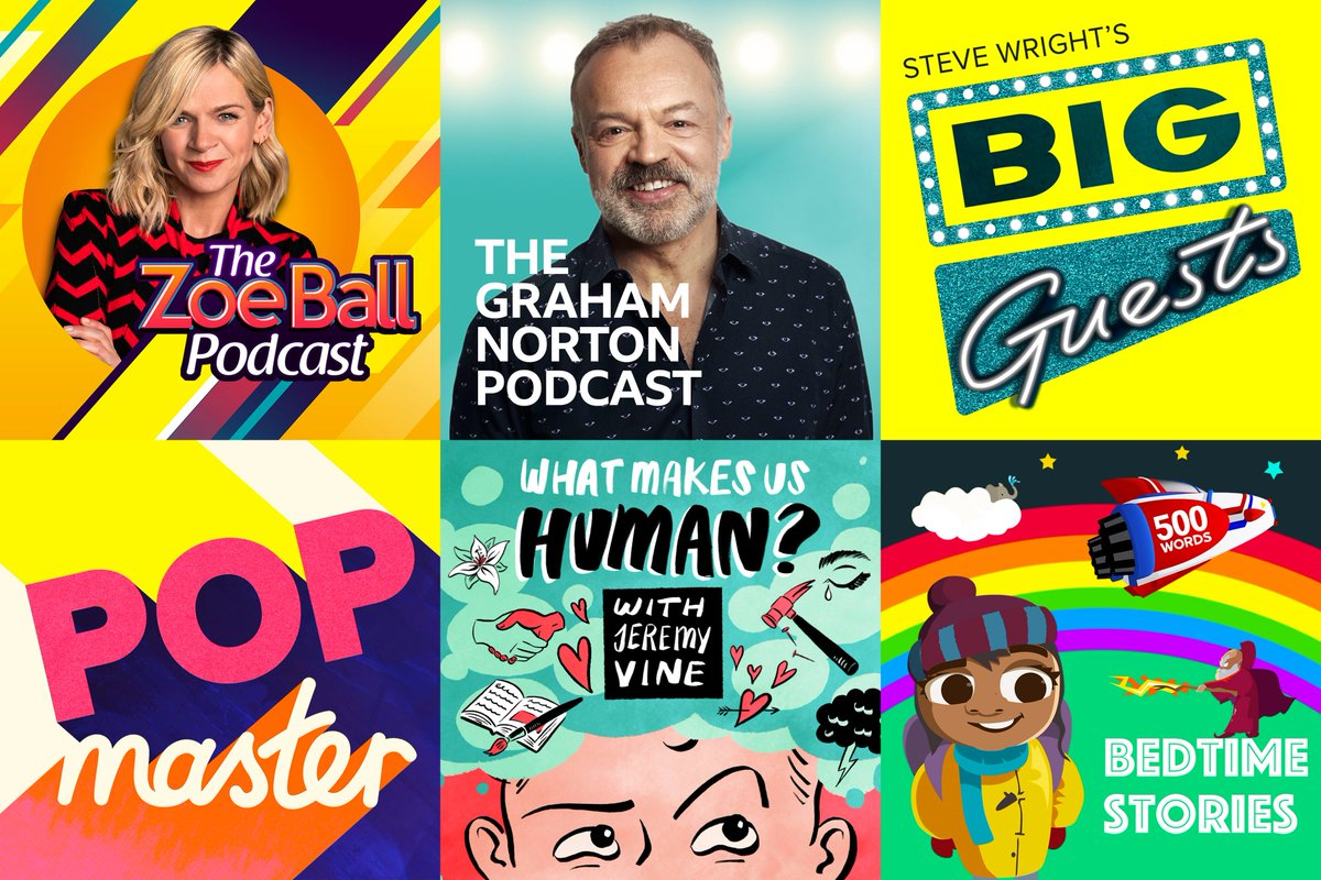 The best moments from some of your favourite Radio 2 shows, and new titles from across the BBC... you'll love the selection of podcasts on @bbcsounds.  Subscribe to them on our website or listen on the go with our free app 📲 http://bbc.co.uk/sounds