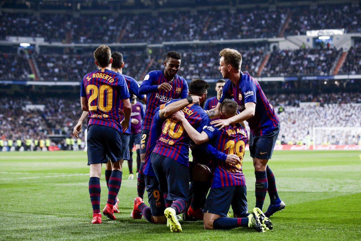 Кубок Испании. Реал - Барселона 0:3. Тихоходам слава, или Голый класс - изображение 4