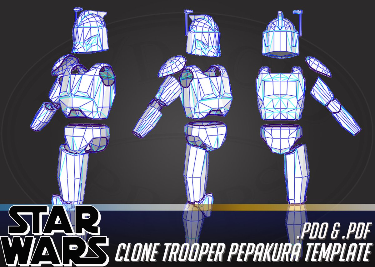 Great for beginners - Cosplay Clone Trooper Pepakura