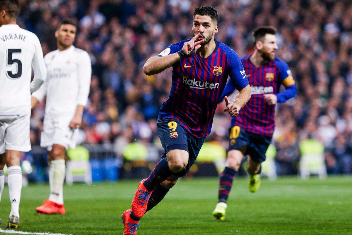 أهداف فوز برشلونة على ريال مدريد