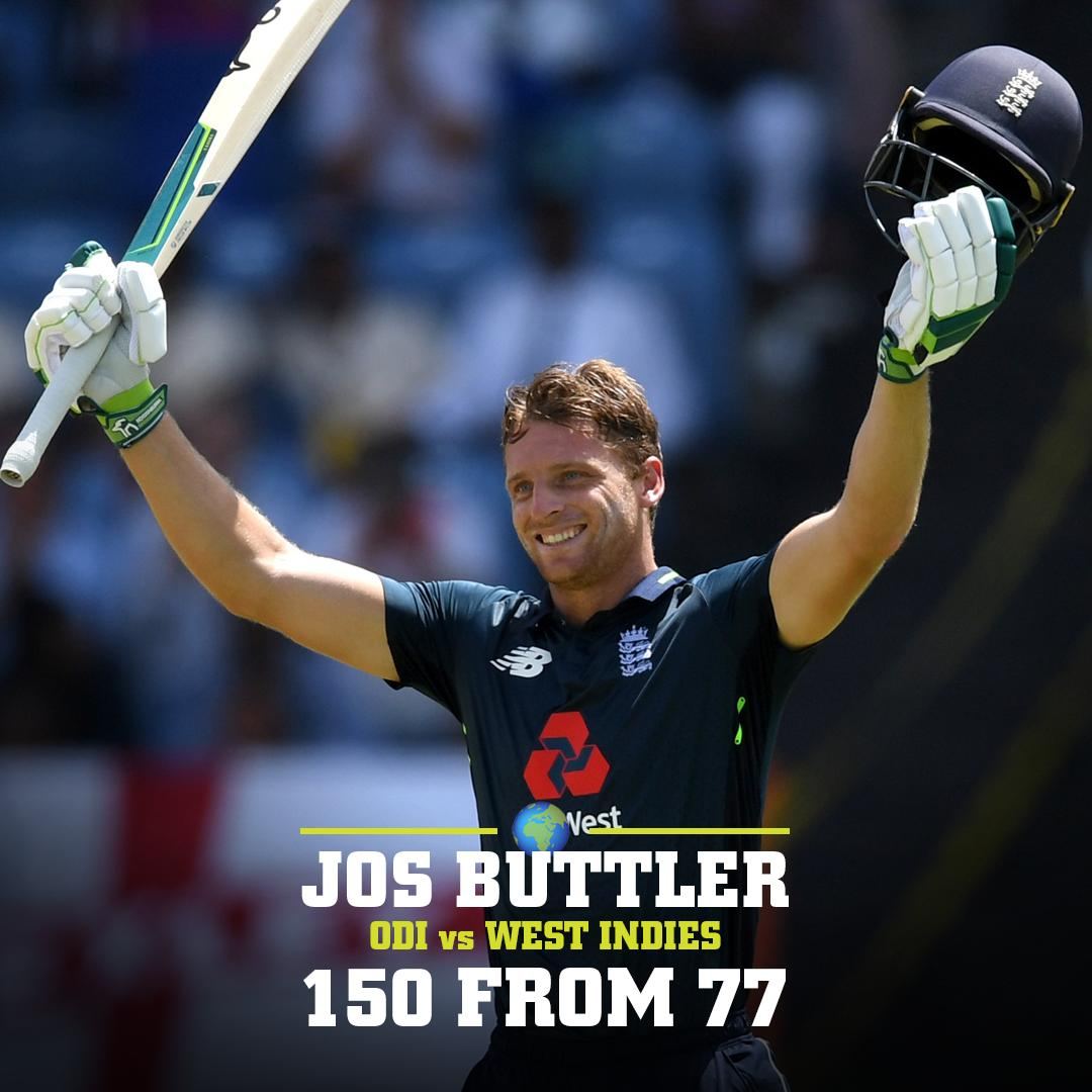 Maxi wasn't the only #BBL08 star who went bonkers last night.   @josbuttler produced a MOTM performance for @englandcricket against the West Indies!