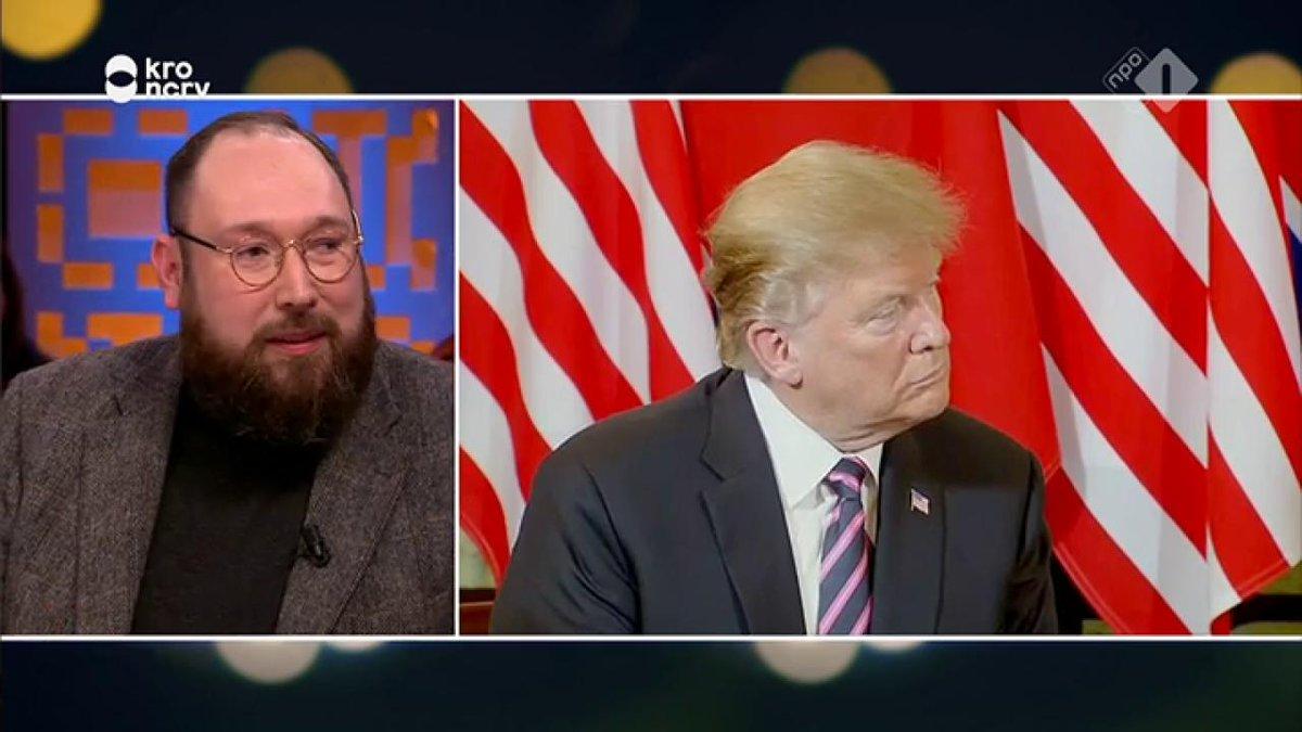 Jinek gemist? Remco Breuker over de top met Donald Trump en Kim Jong-Un