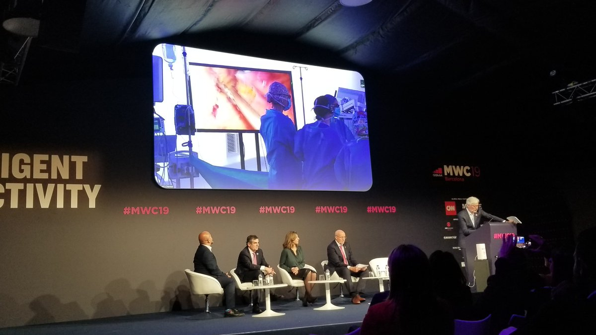 test Twitter Media - Today at #MWC19, we witnessed the first #5G tele-mentored live surgery, as a specialist surgeon located here in the auditorium guided surgeons in the operating room of a remote hospital in real time using #5G mobile network technology. https://t.co/QZDuoosGXi