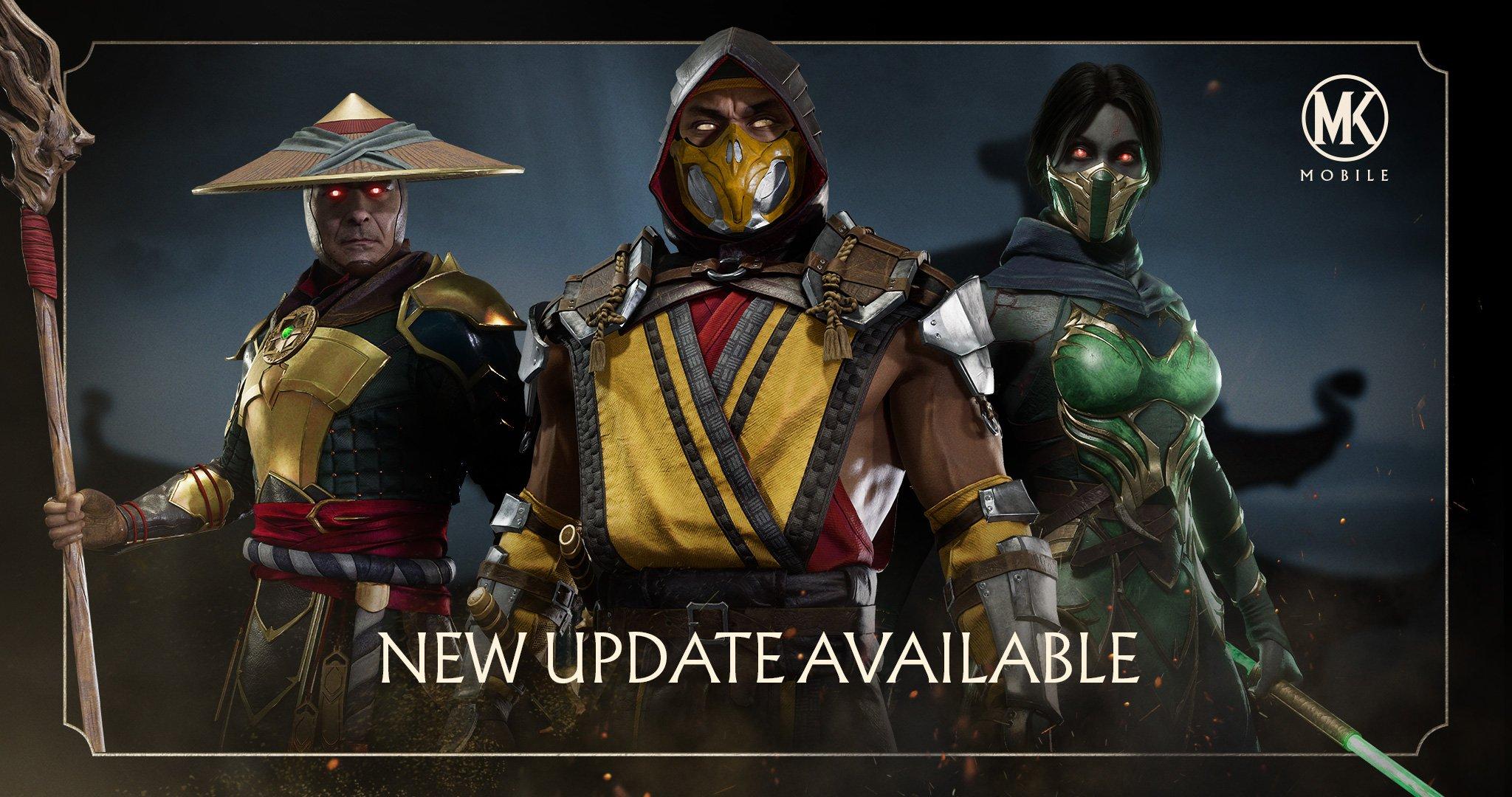 Atualização 2 0 para MK Mobile ~ Galáxia Mortal Kombat