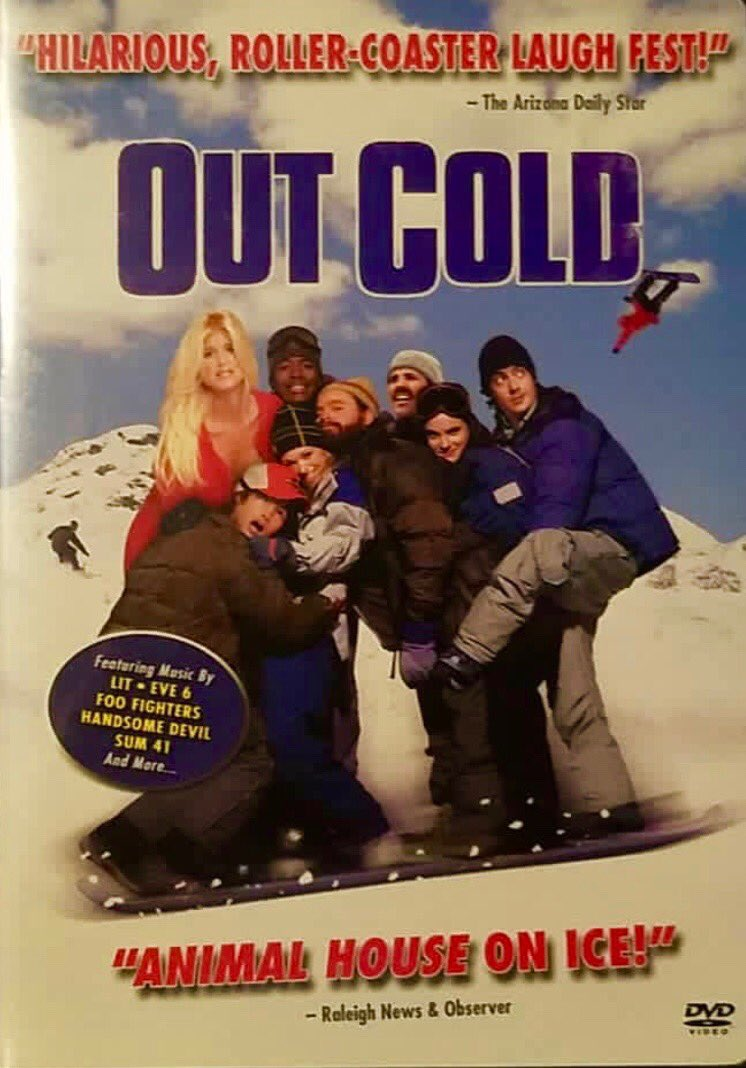 One of the funniest movie I starred in #Outcold #comedy 🏂🤣